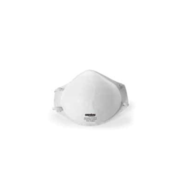 Masque anti poussière FFP2 sans soupape FORME DE COQUE